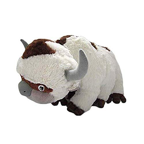 zoomingmingli Kühe Plüschtier Kuscheltier, Anime Kuscheltiere Plüsch Kühe, Stofftier Kuh Weiß Plüschtiere Spielzeug, Kinderspielzeug Geschenke für Schlafkissen Kinder 45/50 cm. (45cm)