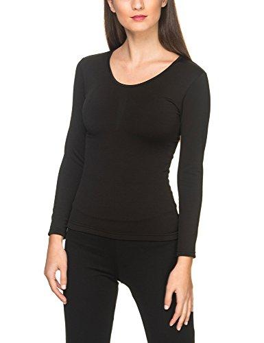 YSABEL MORA Camiseta TÉRMICA (Negro, XL)