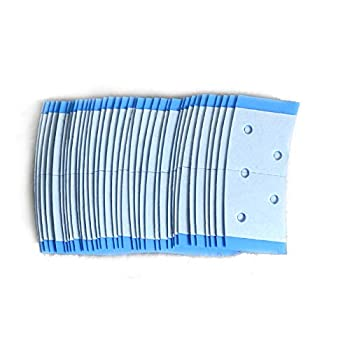AIRAO 40 Strips Double Sided Adhesive Wig Toupee Hair Piece Tape  1 Bag