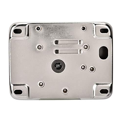 Cerradura de puerta electrónica, ampliamente utilizada Cerradura de puerta inteligente de alta confiabilidad Fácil instalación Cómodo de usar Aspecto exquisito para oficinas para escuelas