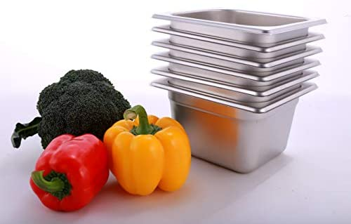 Top 10 Best stainless steel food pans Reviews