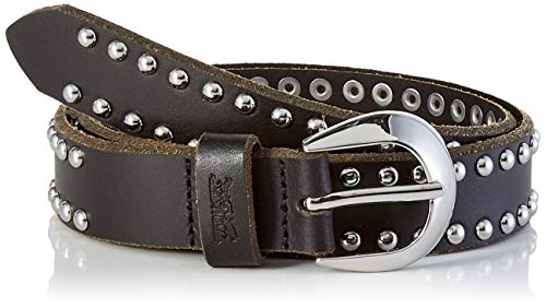 Levi's LEVIS FOOTWEAR AND ACCESSORIES Roxie Stud Belt Cinturón, Negro (R Black 59), 95 para Mujer