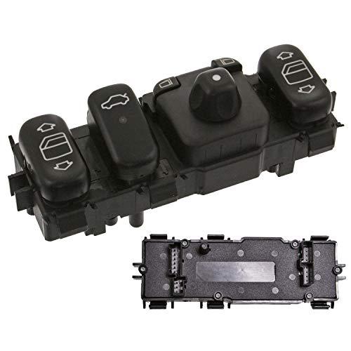 Febi Bilstein 46766 Unité Interrupteur pour ELEKTR. Lève-vitre, miroir réglable et – Chauffage – Mercedes-Benz