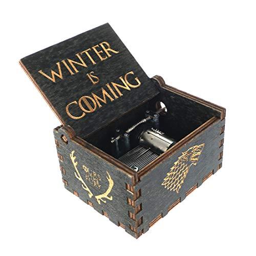 """cosplaystudio - Carillon in legno con melodia del titolo """"Game of Thrones"""""""