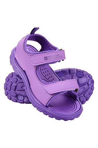 Mountain Warehouse Sandalias Sand para niña - Zapatos con Forro de Neopreno, Sandalias de Verano con Suela Resistente, Calzado con Tira de talón Desmontable UVA 33