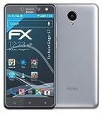 atFolix Schutzfolie kompatibel mit Haier Ginger G7 Folie, ultraklare FX Bildschirmschutzfolie (3X)
