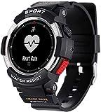 Smart Watch Phone Orologio da uomo IP68 Sleep Monitor remoto fotocamera dispositivo indossabile o iOS Android (B)(A)