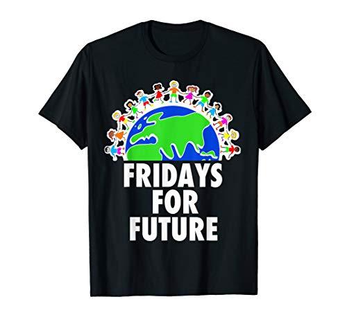 T-Shirt Geschenk für Unterstützer FFF Umwelt Demonstration
