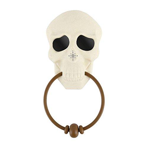 Matefield Halloween 3D schedel LED licht oogbal praten eng geluid deurbel deurbel ring