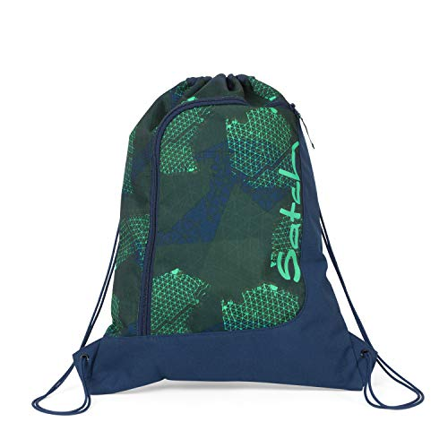 Satch Sportbeutel - 12l - Infra Green - Blau