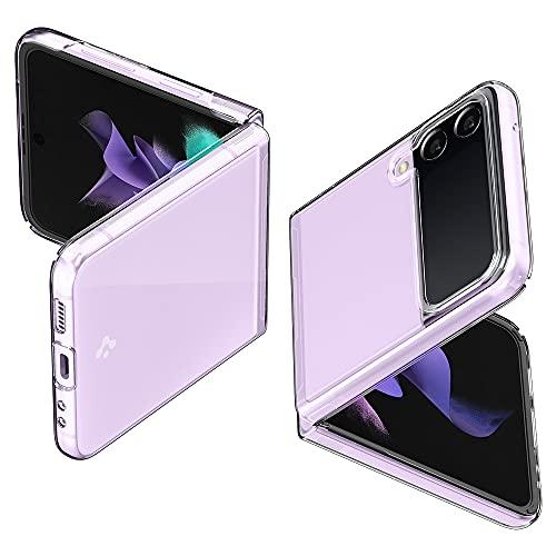 Spigen Air Skin Hülle Kompatibel mit Samsung Galaxy Z Flip 3 5G -Crystal Clear