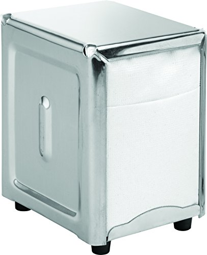 Utopia F60017 Poêles/Seaux et casseroles en acier inoxydable, Présentation, support pour serviettes de table, 12,7 x 9,5 cm, 12.75 cm x 9.5 cm
