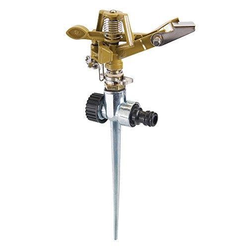 Silverline 868552 Aspersor con Estaca, 300 mm Altura