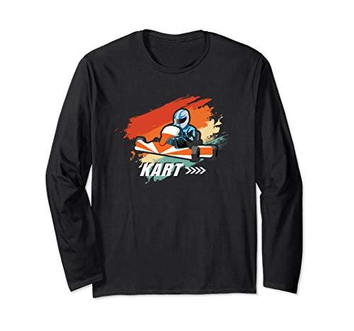 Go Kart Racing Motorsport Rennsport Geschenk Für Rennfahrer Langarmshirt