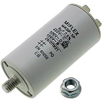 Condensatore 30 microfarad motore elettrico elettropompa Motor capacitor 500V