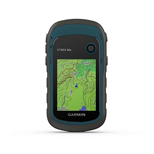 Garmin - eTrex 22x - GPS de randonne avec cartographie TopoActive Europe prcharge avec routes et sentiers routables - Compas lectronique - Bleu