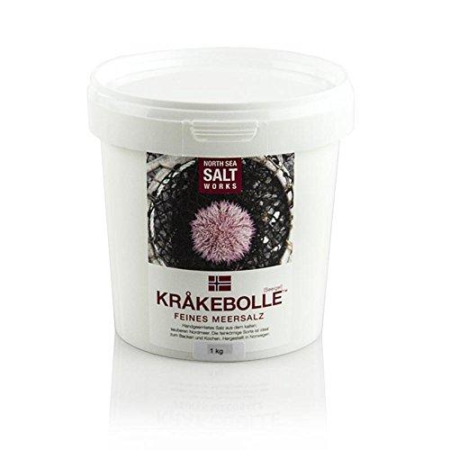 North Sea Salt Works, KRÅKEBOLLE feines Meersalz, aus Norwegen, 1 kg