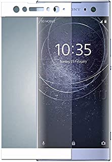 [2 Pack] JAMIE Screen Protector Glass for Xperia XA2 / Xperia XA2 Ultra, Full Cover Ultra Clear 3D Premium Tempered Glass ...