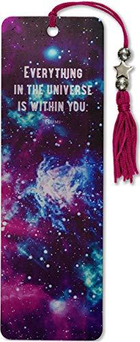 Galaxy Beaded Bookmark