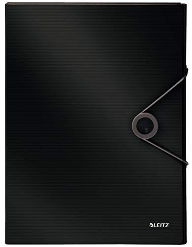 Leitz 45681095 Solid Ablagebox PP A4, schwarz