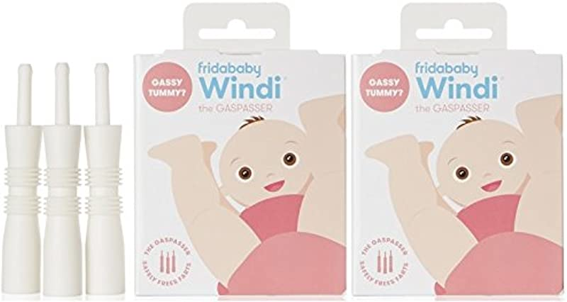 Windi The Gaspasser 20 Count Pack Of 2 The All Natural Solution For Baby Colic And Gas Relief By Fridababy