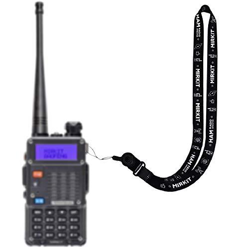 Lanyard Mirkit HAM Radio Operator Neck Strap BAOFENG Accessories and Radio Equipment Quick Release for Two Way Radios, Ham Radio Gifts