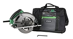 Hitachi Power Tools has renamed to Metabo HPT. Same great tools, with only a new name. Blade speed of 6,000 RPM for smoother, faster, burn-free cuts Integrated dust blower for a clear line of sight and clean work surface while cutting Heavy duty alum...