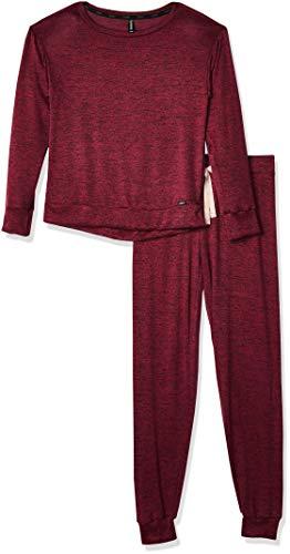 Skiny Set Pijama Dama Manga Larga y Jogger Talla GD