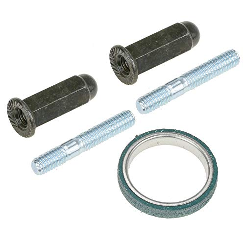 HIAORS Gy6 Exhaust Bolt and Gasket for 50cc 125 cc 150cc Taotao Sunl Coolster Jonway Roketa Scooters ATVs Go Karts Moped Quad 4 Wheeler Dune Buggy