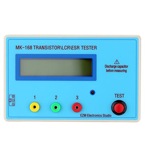 KKmoon Tragbare MK168 LCD Transistor Tester Diode Induktivit?t Kapazit?t Widerstand ESR Meter MOS/PNP / NPN L/C / R-Testing¡
