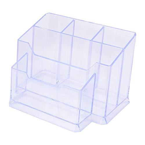 Transparante houder voor afstandsbediening, desktop-opbergdoos, multifunctionele box voor kantoorartikelen