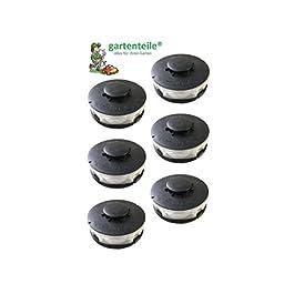 Lot de 6 bobines compatibles avec Einhell CG-ET4530 / Bobine de rechange / double – Convient pour coupe-bordure…