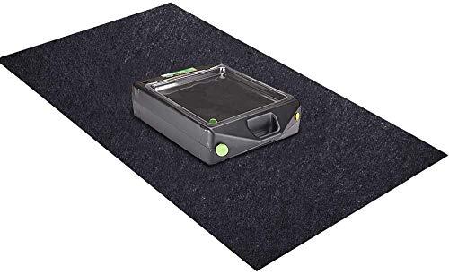 """Garage Floor Mat, Premium Absorbent Garage Floor Oil Spill Mat – Reusable – Oil Pad Maintenance Mat Contains Liquids, Protects Garage Floor Surface (36"""" x 60"""")"""