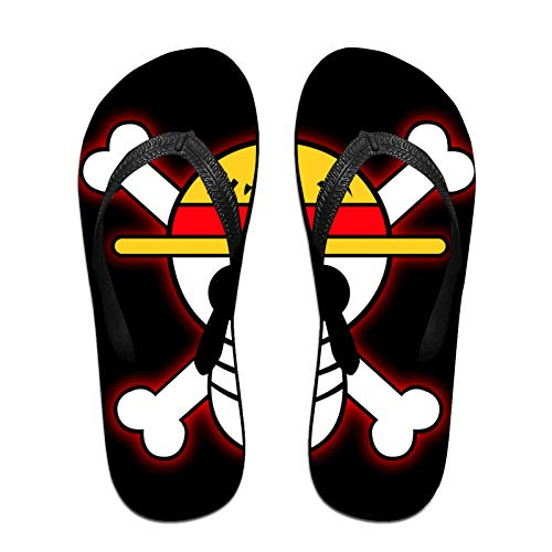 Vsldfjc Anime One Piece Fashionable Flip Flop, Water Shoes, Beach and Athletic Sandals, Sport Thong Sandal, Slippers for Men and Women