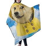 Funny Space Wow Yellow Doge Dog Meme Salon Cape...