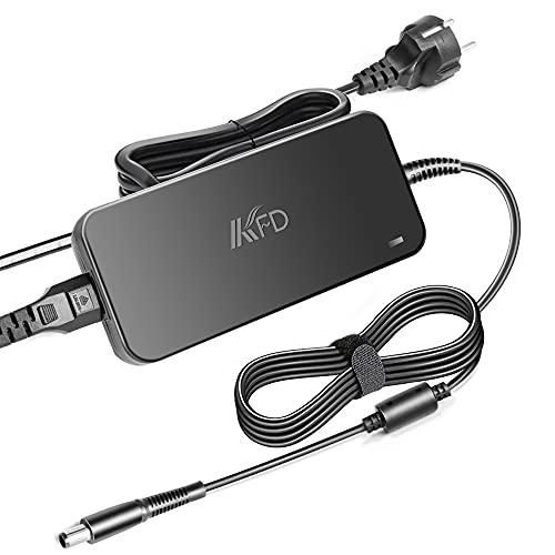 KFD 130W Cargador Adaptador Cable de alimentación para DELL Inspiron 7559 5577 5576 7567 7566 7557 5160 Precision 3520 3510 3530 M2800 M6300 XPS L502X 17 L702X LA130PM121 DA130PE1-00 19,5V 6,7A 7,4mm