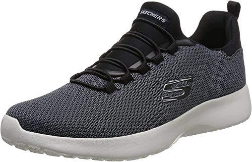 Skechers - Sneaker da uomo Dynamight (58360 NVY), numeri grandi, blu, Blu (Blu), 41 EU