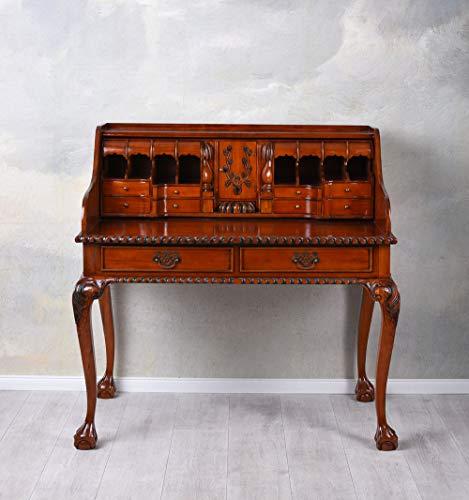 Chippendale Sekretär Chateau de Salvert Antik Schreibtisch Massivholz mar172 Palazzo Exklusiv