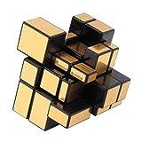 N-B Cubo de Rubik Dorado y Plateado Cubo de Rubik educación temprana Juguetes educativos para niños Regalos para Adultos