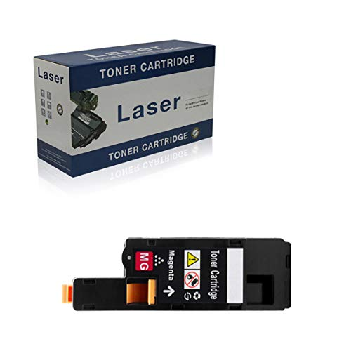 Compatible Toner Cartridges Replacement for Dell 1250C 593-11016 593-11021 593-11018 593-11019 for Use with Dell 1250C 1350CNW 1355CN 1355CNW Printer,Magenta