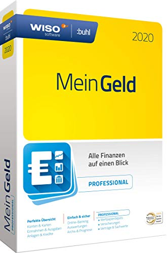 WISO Mein Geld Professional 2020 [WISO Software] | Disc in Standardverpackung