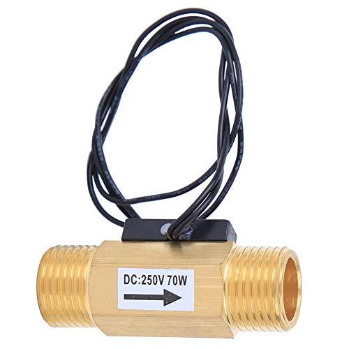 Schakelaar voor waterstroomsensor, schakelaar voor waterstroomsensor met 1/2-inch interface Elektromagnetische flowmeter Industriële accessoire