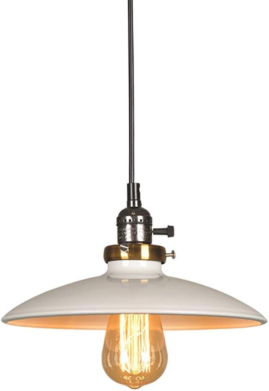 Retro Kreative LOFT Kronleuchter Bar Cafe Drehschalter Kronleuchter Dekoration Lampen Schwarz Und Wei Stil (Farbe   Weiß)