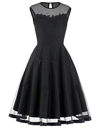 Belle Poque Retro Cocktail Dresses For Women Evening Party Size S BP112-4