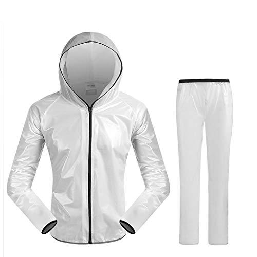 Shop-5 Regenjassen voor heren en dames, set waterdicht, waterdicht, regenjas, pak voor kamperen, vissen