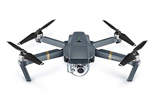 DJI Mavic Pro–Quadcopter Drone (4K, 12MP, 65km/h, Reichweite 7km), grau