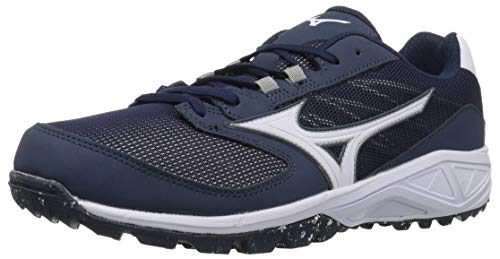 Mizuno Mens Dominant All Surface Low Turf, Navy/White, 8