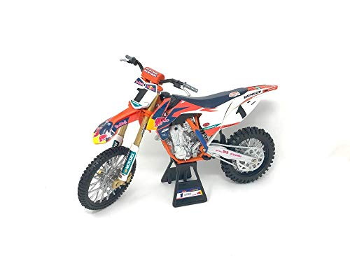 New Ray 57953 KTM 450 SX-F #1 Ryan Dungey Red Bull Factory Racing Championship Edition 1/10 Diecast Motorcycle Model