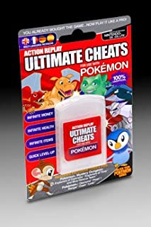 Nintendo DS Action Replay Ultimate Codes For Use With Pokemon Games