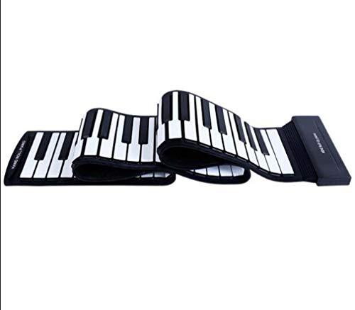 CE-LXYYD handmatige pianoforte met 88 toetsen, elektronische pianoforte opvouwbaar, gevoerd en opvouwbaar, draagbare midi-batterij, oplaadbare lithium-batterij, voor beginners en volwassenen